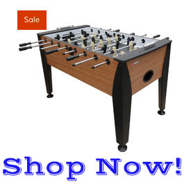 foosball table on sale