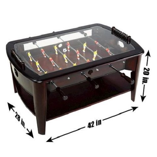 Peachy Foosball Coffee Table See Your Best Options Foosball Gamerscity Chair Design For Home Gamerscityorg